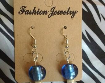 Earth Blue Earrings