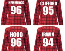 5 Seconds of Summer Flannel