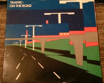 Traffic  - On The Road - ISLD-2 - 1973 - 125 gram / 138 gram - UK Import - VG+
