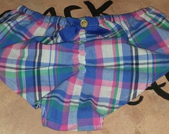 Plaid Boy Shorts