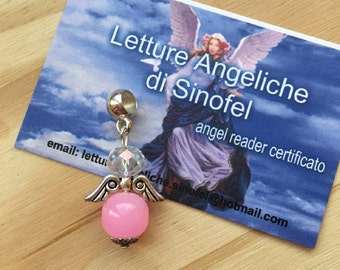 Pink Angel pendant