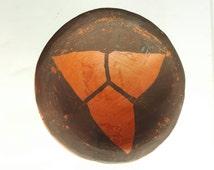 Antique miniature Southwest Pueblo pottery salt dish