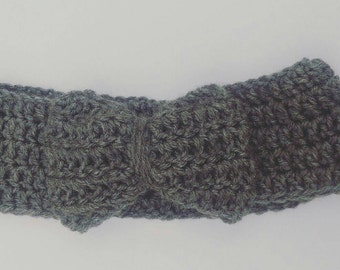 Bow Ear Warmer Headband