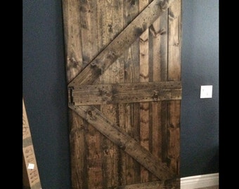 Pantry Barn Door - customize your size
