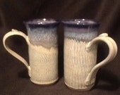 Schaefer Blue Mugs