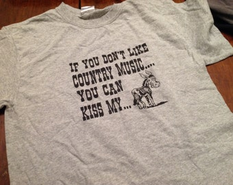 Country Music shirt - SM