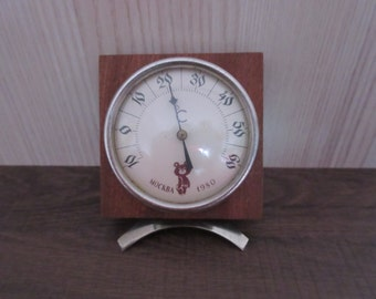 USSR Soviet Thermometer With Moscow Olympic Games Logo Misha Rare