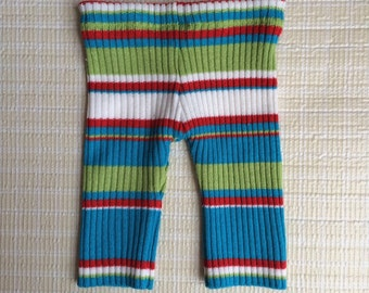 Upcycled newborn girls pants, Newborn hirls pants, Girls photo prop, Photo prop, Striped photo prop