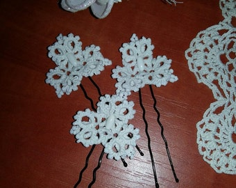 hairpin lace decoration