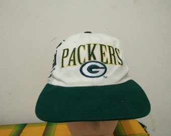 Rare Vintage Sports Specialities GREEN BAY PACKERS Cap Hat Free size fit all