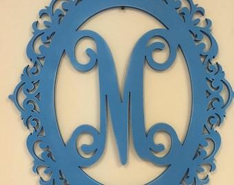 Mirror Initial Monogram