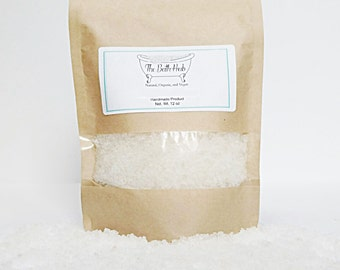 Eucalyptus Spearmint Bath Salt, Organic Bath Salt, Eucalyptus Spearmint Bath Soak, Aromatherapy Bath Salt, Bath Soak, Bath Salts