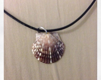Medium Brown Shell Necklace