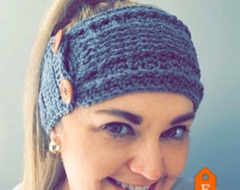 Earwarmers/headwarmers in your choice of colour
