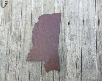 state of Mississippi, Mississippi wall hanging, rustic tin mississippi decor, rustic mississippi decor, mississippi decor, mississippi