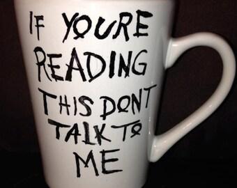 DRAKE inspired album art mug