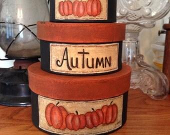 Stacking Autumn Boxes