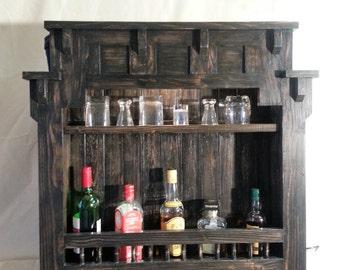 Whisky/Liqueur cupboard.
