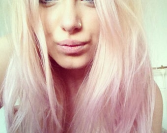 Pastel Pink Hair Chalk - Salon Grade - Temporary - Non-Toxic