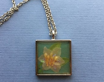 Happy Lotus Pendant