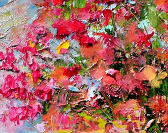 Abstract Painting, Oil Painting, Artificial painting Handmade