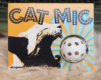 Cat Mic Low-Fi Contact Microphone for Humans