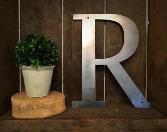 """Metal Letter - """"R"""""""