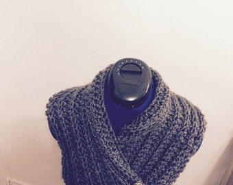 "New ""Homemade"" crochet neck warmer."