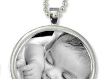 Photo Necklace or Keychain