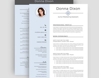 two page resumes