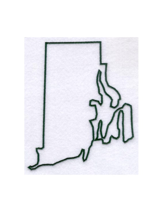 Rhode Island Stencil Made From 4 Ply Mat By