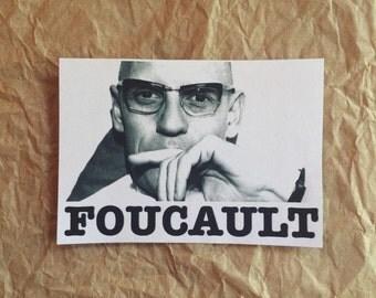 Michel Foucault Sticker