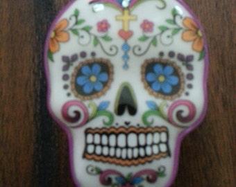 Sugar Skull Trinket Box