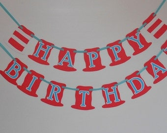 Dr Seuss Birthday Banner