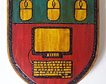 computer coat of arms