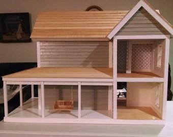 Custom made wooden doll houses