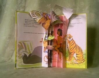 Book folded and glued
