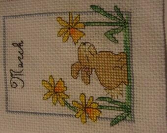 Cross - stitch embroidery
