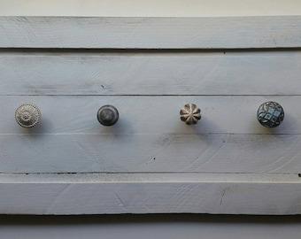 Charming Wall Mount Coat Rack, Reclaimed Barn Wood