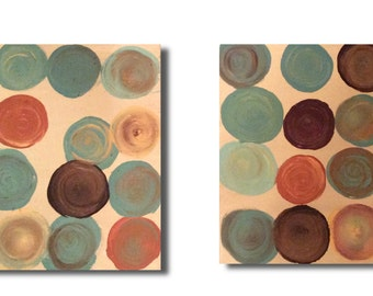 Diptych Dots