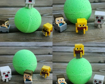 Kids Minecraft Surprise Bath Bombs