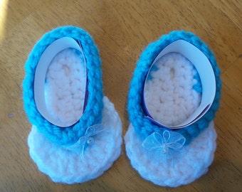 Girls flip flops 3-6mths
