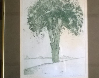 "Michael Carlo artist's proof ""Hawthorn"""