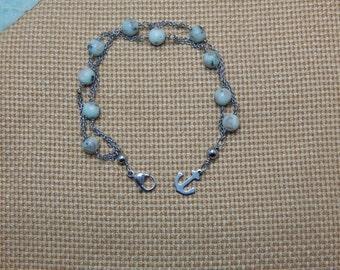 Sesame Jasper bracelet
