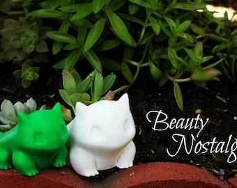 Bulbasaur Planter, 3D Printed, Pokemon, Pokemon Go