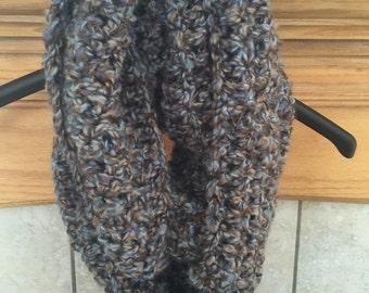 Chunky infinity scarf/cowl