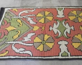 Antique Turkish Kilim -Cicim