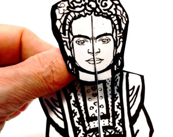 Frida Kahlo Paper Doll - Printable Toy