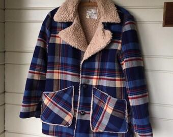 Vintage 1970's wool coat.