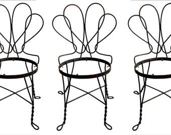 Vintage Garden Chairs